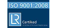 Certiked ISO 9001:2008